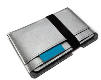 iPad mini 4 Cover iPad mini 2 Case, Padded Tablet Case. Vegan Leather iPad mini Bag