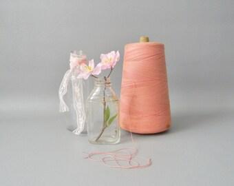 Vintage Pink Spool of Thread