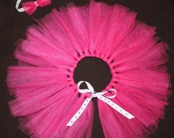 Pink Tutu with Matching Headband