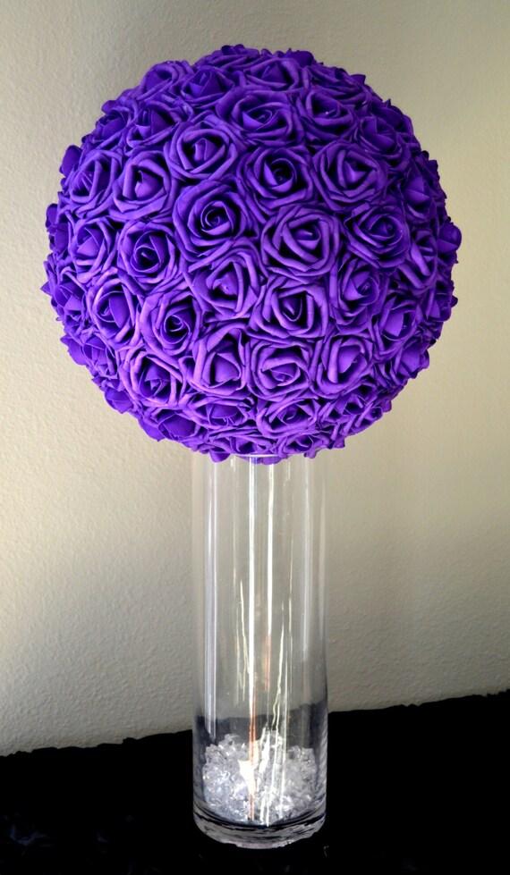 Flower Balls For Wedding Centerpieces. sparkling shimmer flower ball ...