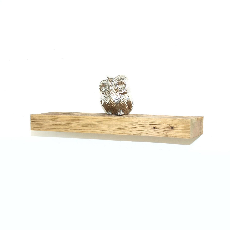 Reclaimed Wood Floating Shelf 24