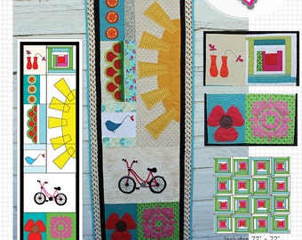 Summer Squeezed PDF Quilt Pattern