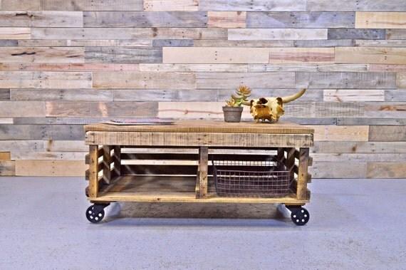 Reclaimed Wood Chicken Coop Coffee Table Reclaimed Wood