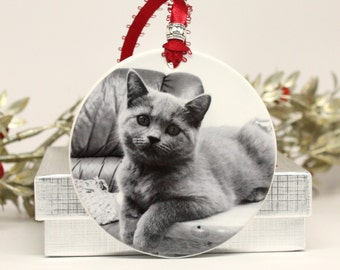 Custom Pet Ornament Christmas Ornament Forever Home Ornament Remembrance Ornament Pet Adoption Gift Family Gift Christmas Tree Ornament