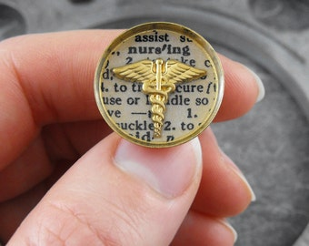 Golden Nursing Pin Pinning Ceremony - Defining the Life of a Nurse by COGnitive Creations