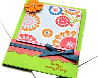Friend Card For Her - Encouragement Cards - Floral Card For Her - Just Because - Best Friends Card - Greetings Cards Her - Cheer Up Card