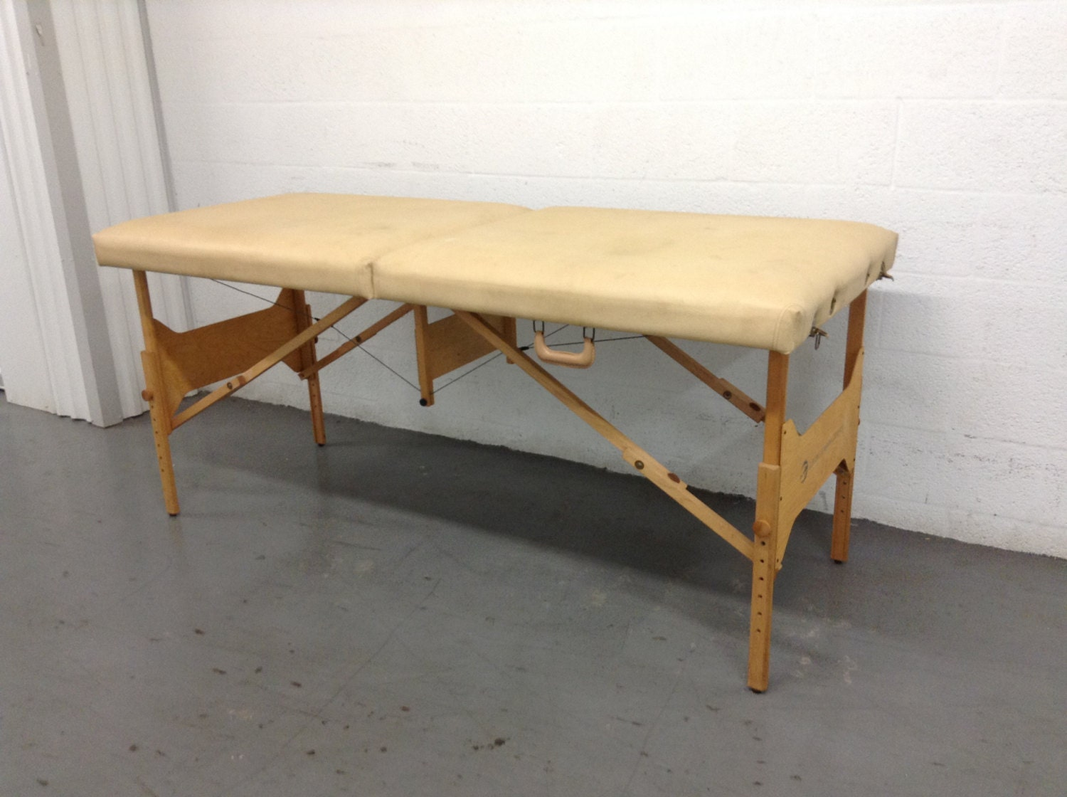 vintage folding living earth crafts portable massage bed