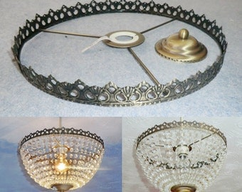 make your own wedding cake kit popular items for basket chandelier on etsy 17013