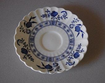 Nordic Blue & White Tea Saucer