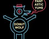size 3XL Donut Wolf shirt