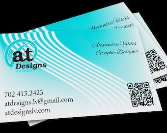 Business Card Design - One Sided - Professional Designer - Custom