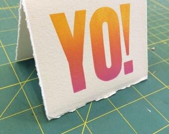 Yo! Cards