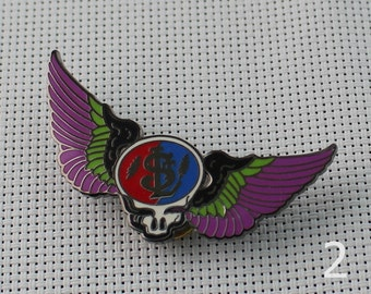 Grateful Dead Pins USD Steal Your Face Skull Pin