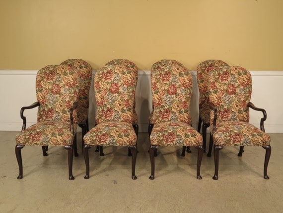 22867E Set Of 8 Upholstered Queen Anne Cherry by  : il570xN69699085889yq from etsy.com size 570 x 428 jpeg 59kB