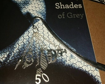 Fifty 50 Shades of Grey Bookmark design 2
