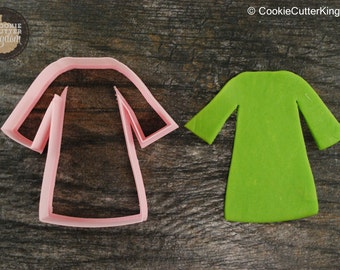 Graduation Gown Cookie Cutter, Mini and Standard Sizes, 3D Printed