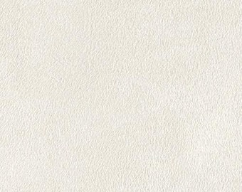 "White Polyester micro faux suede upholstery fabric by the yard 60"" Wide"