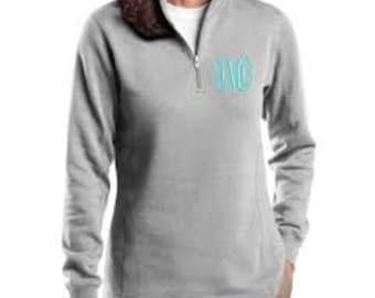 1/4 zip Sweatshirt/Pullover fleece - Personalized Embroidery!