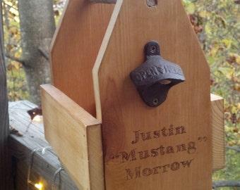 Six Pack Holder- Reclaimed Wooden Groomsmen/Birthday/Anytime gift- Six Pack Carrier