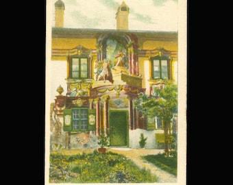 Luftlmaler Vintage Postcard