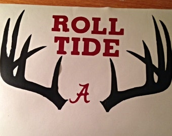 Alabama - Roll Tide - Football - Vinyl Decal