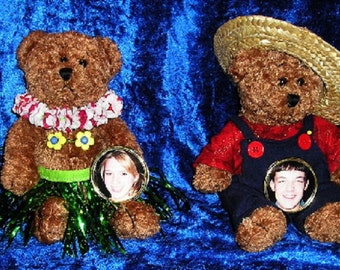 Scented Wax-Dipped Bears, Custom Made To Your Liking, Any Occasion or Theme, Over 200 Scents to Choose From!