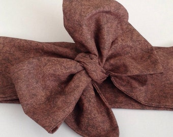Forest Brown Headwrap!!!