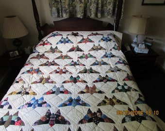 "1 ""Pieced Butterflies"" quilt"