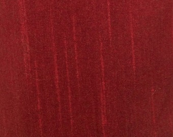 Dark Red-29 Silk Dupioni Shantung Fabric 100% Polyester for Apparel Home Decor By the Yard