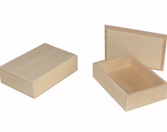 50 wooden boxes jewels box outside dimensions cm 10-7-3