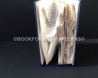 paw love book-folding pattern