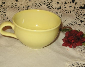 Iroquois Casual China Russel Wright Restyled Yellow Cup/Russel Wright Mid Century Modern Dinnerware