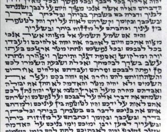 Kosher 7cm Mezuzah 2.8 Inch Scroll klaf Mezuza Parchment jewish symbols mazuzah SC-7