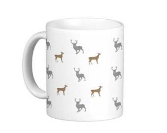 Deer Mug. Stag. Doe.