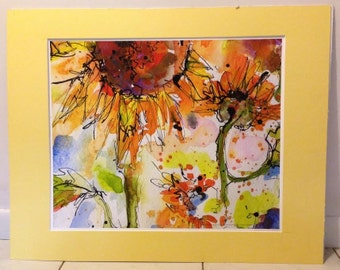 Print of Original Watercolor and Ink Painting by GINETTE CALLAWAY 2007