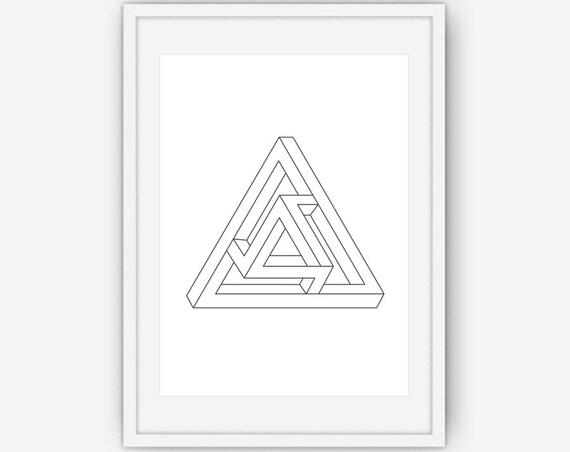 Figure g om trique impossible imprimer imprim g om trique - Figuras geometricas imposibles ...