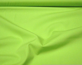 Fabric cotton Poplin kiwi green cotton fabric