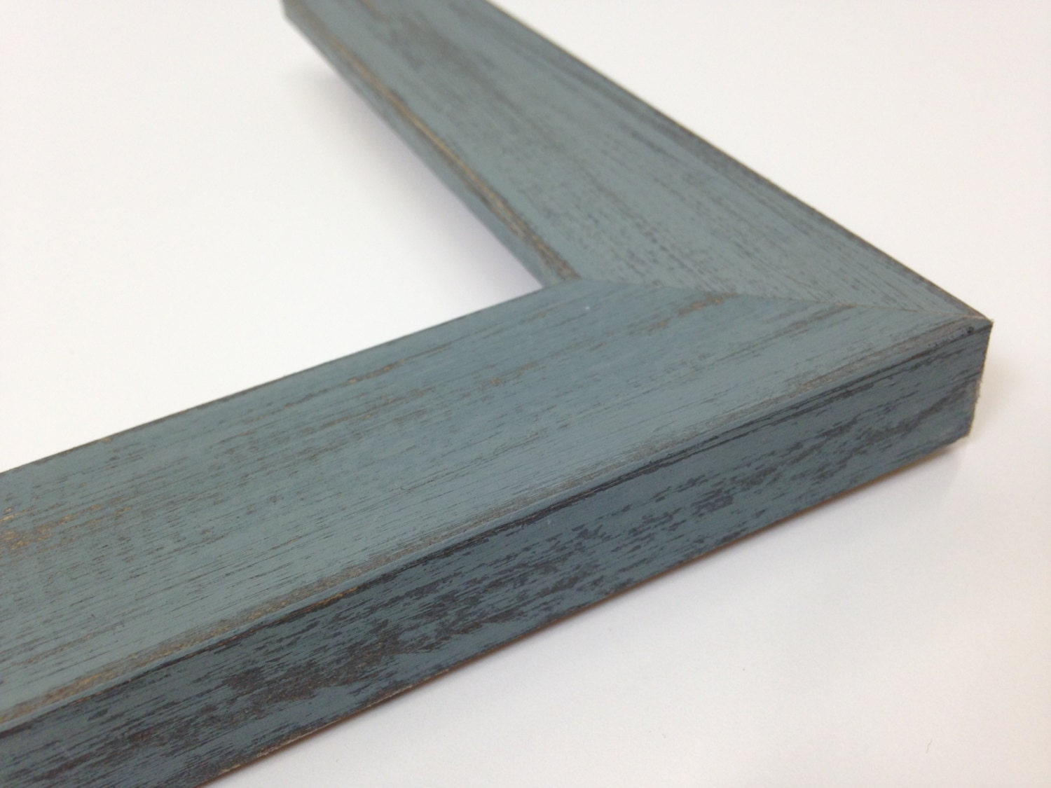 gray rustic wood picture frame grey reclaimed distressed. Black Bedroom Furniture Sets. Home Design Ideas