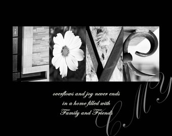 "CMY Word Art ""LOVE"" - Download Digital File"