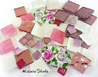 Mosaic Gourmet Bling Packs - 50pc - Shabby Chic