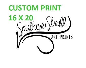 Custom Print 16 X 20 - Fine Art Print, Landscape Photography 16x20