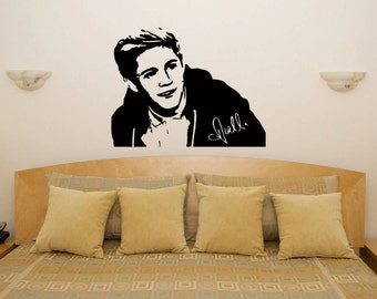 Niall Horan One Direction Bedroom Wall Art Sticker Picture Decal