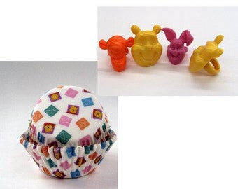 Winnie the Pooh Rings with Winnie the Pooh Baking Cups