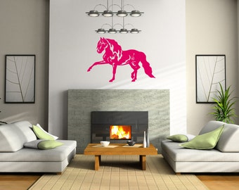 Horse Pony Stable Wall Art Sticker Decal nm090