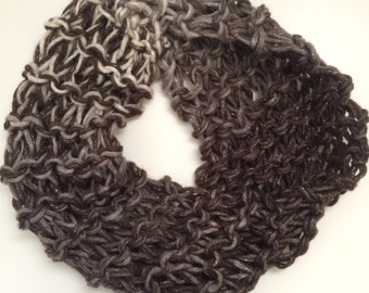 Hand-Knit Cowl