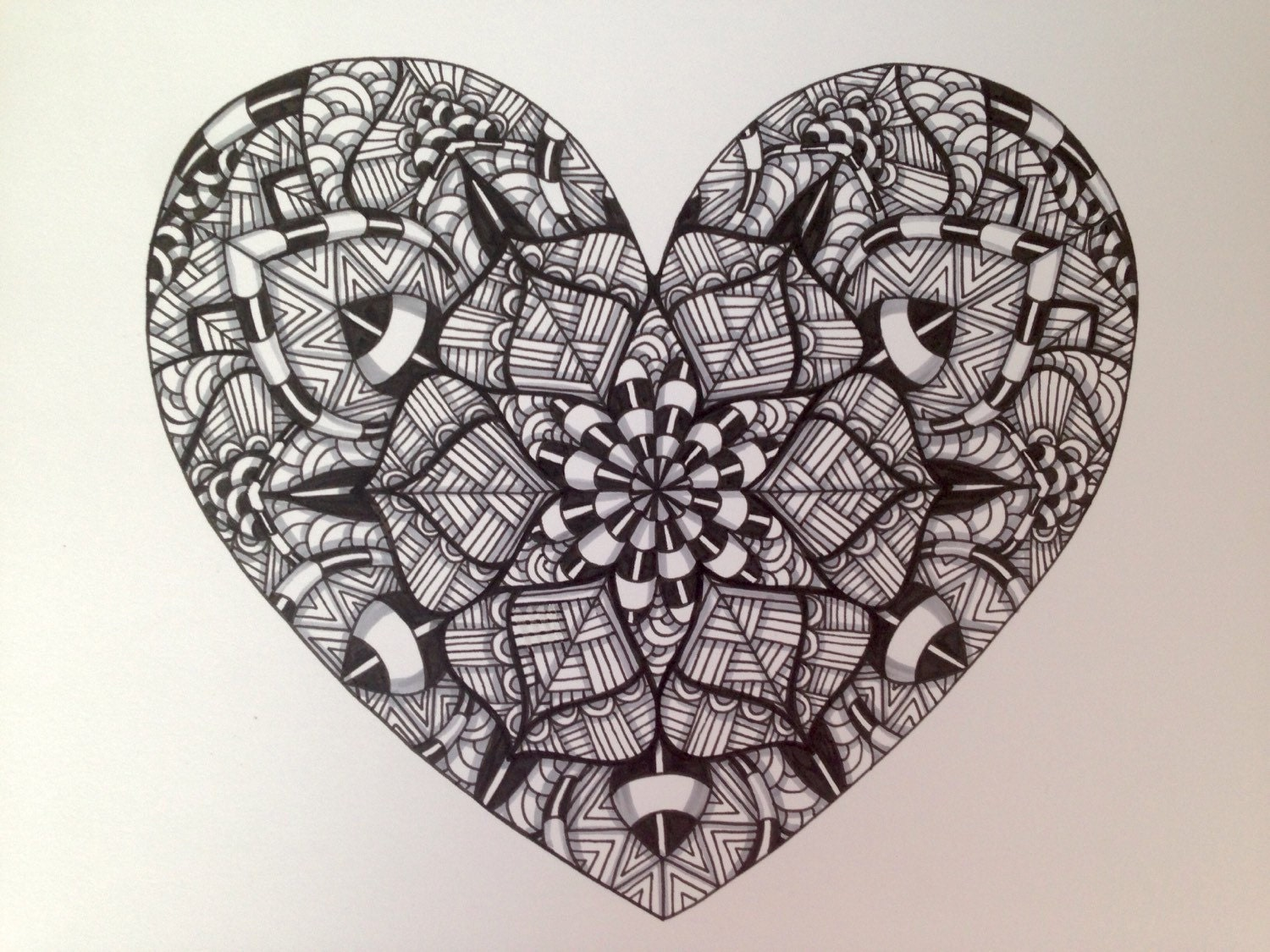17 Best images about Zentangle on Pinterest | Keith haring ... |Zentangle Heart Graphics