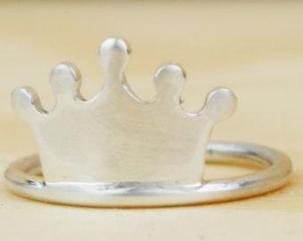 Anillo de plata solo apto para Princesas