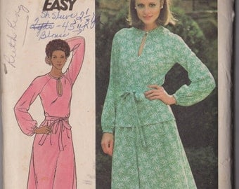 Butterick 5298 Vintage 1970s (?) Sewing Pattern