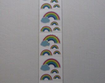 Rainbow Scrapbooking Stickers