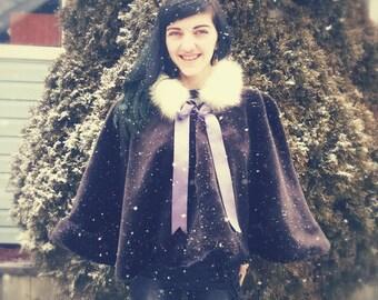 Fantasy Fur winter Cape